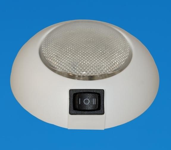 led 4 led surface mount light white surround white. Black Bedroom Furniture Sets. Home Design Ideas