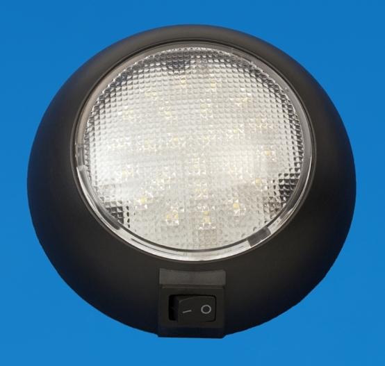led 4 5 surface mount accent light black plastic cool. Black Bedroom Furniture Sets. Home Design Ideas
