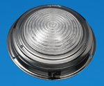 "LED 7"" LED Interior Dome Light - Stainless - Cool White LEDs - 12V"