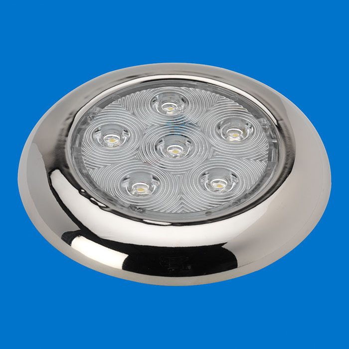 4 led puck light stainless without switch warm white 12v aloadofball Gallery