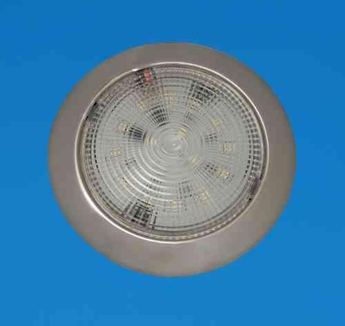 Led bright slim ceiling light 132mm 525 stainless warm led bright slim ceiling light 132mm 525 stainless warm white leds 12v aloadofball Images